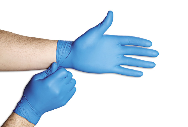 disposable nitrile gloves for examination
