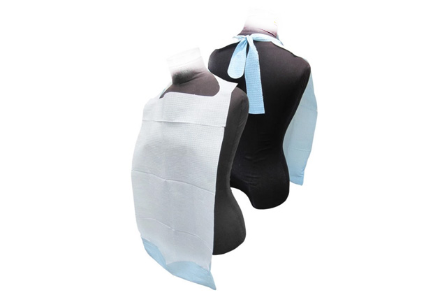Disposable Adult Bibs, with pocket