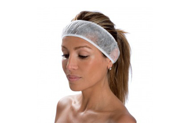 Disposable Headband two elastics
