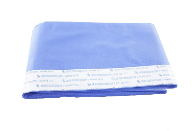 Disposable Surgical Drapes with adhesive