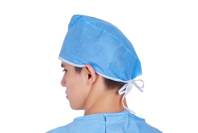 Disposable Non Woven Surgeon Caps by Dismac