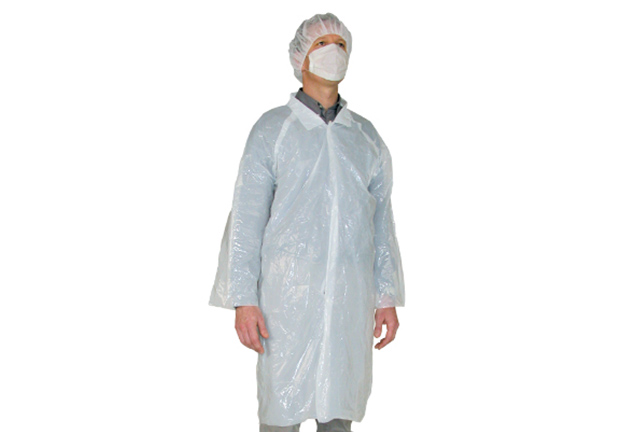 LDPE Visitor Coat, Polyethylene Vistor Coats