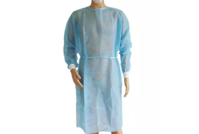Disposable PP Isolation Gown Knitted Cuffs