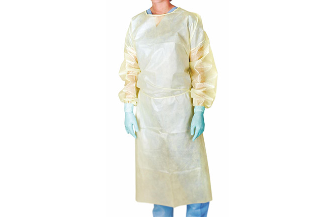 Polypropylene Isolation Gown with PE Laminated