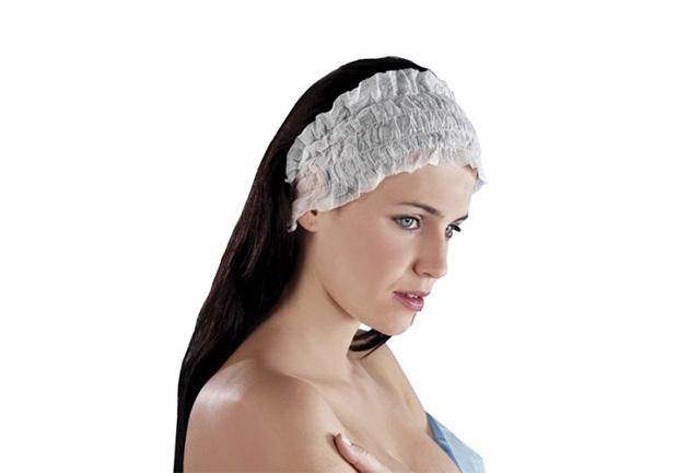 disposable nonwoven headband