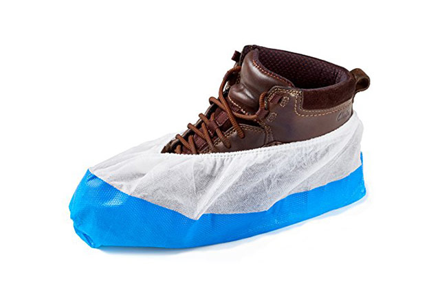 pp cpe coated soled shoe covers