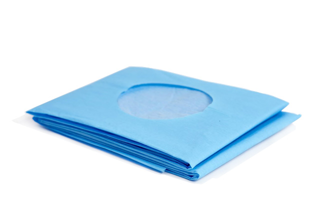 Sterile Fenestrated Drape Without Tape