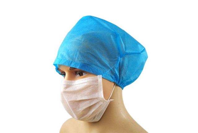 Surgeon cap with back elastic